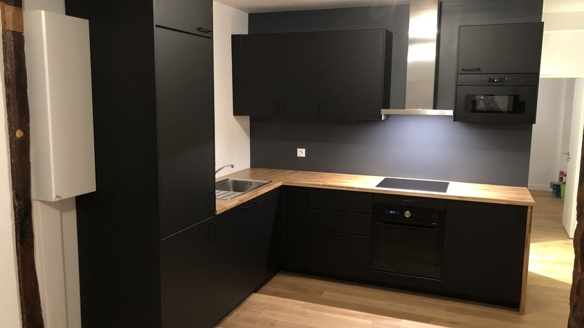 Rénovation totale appartement 50 m²